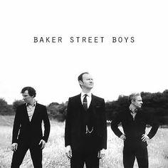 John Watson (Martin Freeman), Sherlock Holmes (Benedict Cumberbatch) and Mycroft Holmes (Mark Gatiss). Sherlock Bbc, Sherlock Poster, Sherlock Season 4, Sherlock Fandom, Sherlock Series, Watson Sherlock, Captain America Poster, Benedict Cumberbatch, Funny Greetings