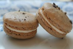 Lavender and Orange Macarons :: Cannelle et Vanille