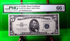 Five Dollars 2003 Federal Reserve Notes for sale online Federal Reserve Note, Silver Certificate, New Fathers, The Ordinary, United States, Notes, America, Personalized Items, Presidents