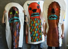 marionnettes de corps