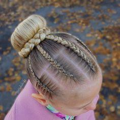 85 Box Braids Hairstyles for Black Women - Hairstyles Trends Box Braids Hairstyles, Lil Girl Hairstyles, Trendy Hairstyles, Gymnastics Hair, Competition Hair, Girl Hair Dos, Natural Hair Styles, Long Hair Styles, Braids For Kids