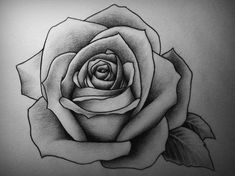 Drawing of roses drawing roses pin on tattoo art rose drawing flowers roses easy Flower Sketch Pencil, Rose Sketch, Flower Sketches, Rose Images, Rose Pictures, Pictures To Draw, Rose Drawing Tattoo, Tattoo Drawings, Rose Drawings