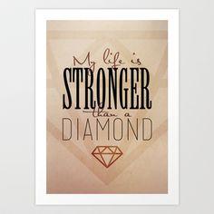 Stronger than diamond - $15.00