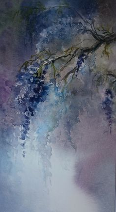 "Sylvie sueur  ""Au mois de mai joli !"" Abstract, Drawings, Artwork, Painting, I Like You, Pretty, Watercolor Painting, Summary, Work Of Art"