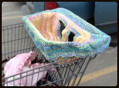 Ravelry: Shopping Cart Cover pattern by Sonya Blackstone