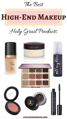 Holy grail high end makeup products that deliver and are absolutely worth their price tags. products best The Best High End Makeup - Holy Grail Products Makeup List, Maybelline Makeup, Drugstore Makeup Dupes, Makeup Brands, Makeup Cosmetics, Best Makeup Products, Beauty Products, Makeup Primer, Benefit Cosmetics