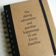 Personalized Notebook Notepad Daring Handmade by Zany 18