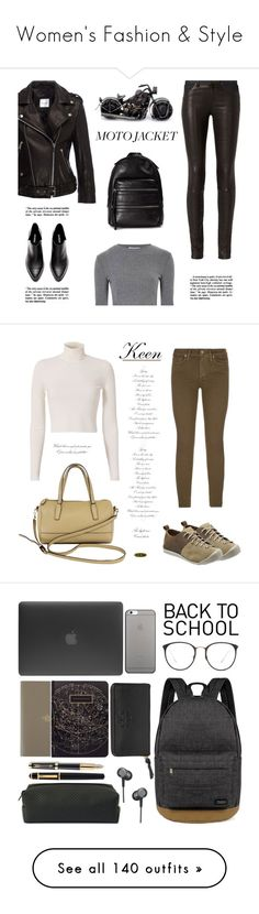 """""""Women's Fashion & Style"""" by vbasianioti ❤ liked on Polyvore featuring Anine Bing, rag & bone, NOVICA, Glamorous, Marc Jacobs, Keen Footwear, Paige Denim, A.L.C., Coach and keen"""