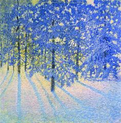 Winter Morning 1907 by Russian post-Impressionist painter Igor Grabar - wow! Really captures the feel of a cold winter morning! Contemporary Artists, Modern Art, Art Amour, Ouvrages D'art, Impressionist Art, Post Impressionism, Art Moderne, Russian Art, Tree Art