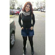 Shorts e meia calça