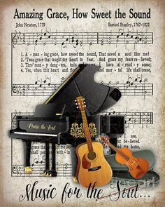 Amazing Grace-jp3513 Print By Jean Plout