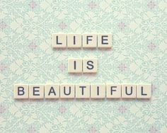 life is beautiful! by Anastasia Koutsikou on Etsy