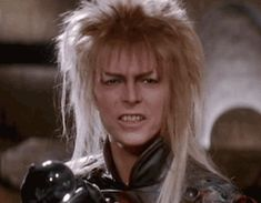 """When bae forgets date night. 25 Perfect GIF Reactions From Jareth From """"Labyrinth"""" David Bowie Labyrinth, Labyrinth 1986, Labyrinth Movie, Jim Henson Labyrinth, Vampire Stories, Labrynth, The Thin White Duke, Goblin King, Perfect Gif"""