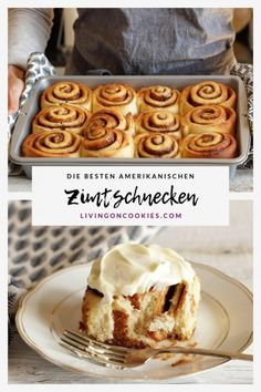 Homemade cinnamon rolls are the BEST! Every step in this recipe is easy and these gooey, lush cinnamon rolls are worth the effort! Simple Muffin Recipe, Healthy Muffin Recipes, Donut Recipes, Cake Recipes, Best Cinnamon Rolls, Cinnamon Bread, Cinnamon Drink, Cinnabon, Cheesecake