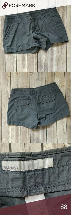Old Navy Gray Shorts Great condition. No offers. Price is the lowest I'll go. Old Navy Shorts Bermudas