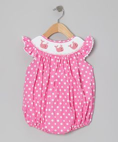 Take a look at this RuffleGirl Bubblegum Pink Lil' WonderFrilly Whale Bubble Romper - Infant on zulily today!