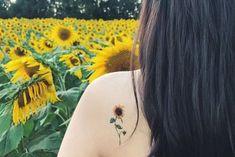 Flower Temporary Tattoos Set of 8 flower tattoos lavender rose peony lily sunflower pink blue redyellow handmade gift Sunflower tattoo Mini Tattoos, Trendy Tattoos, Body Art Tattoos, New Tattoos, Small Tattoos, Sleeve Tattoos, Tattoos For Women, Tatoos, Small Lily Tattoo