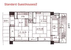 traditional japanese house floor plan - google search | floorplans