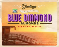 I Loveeee Coconut Almonds!! ...and all Blue Diamond almond flavors! Greetings From California Sweepstakes