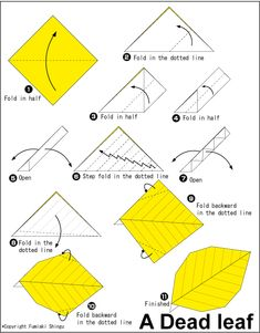 Leaf origami flower diagram circuit connection diagram 1 rh pinterest com easy origami rose easy origami dragon mightylinksfo