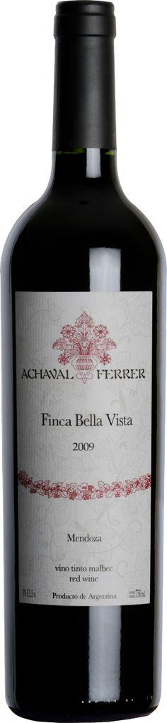 Malbec 2012 *Finca Bella Vista* - Bodega Achaval Ferrer, Luján de Cuyo, Mendoza, Argentina ---------------------- Terroir: Perdriel (Luján de Cuyo) - Mendoza, Argentina ------------------- Crianza: 15 meses en barricas nuevas de roble francés