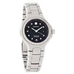 Movado 800 Series Diamond Ladies Swiss Quartz Watch 2600054 NWT $2700 Women's Dress Watches, Quartz Watch, Omega Watch, Diamond, Lady, Accessories, Fashion, Moda, La Mode