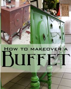 A Buffet Make Over