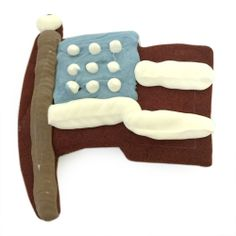 For Tails Only | Indepe-PAW-dence USA Flag Cookies | Dog Treats #fortailsonly | Stacie Marshman Handler FH100 | www.fb.com/paradisepetboutique