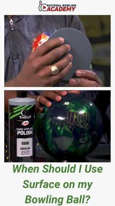 """In this free video, Ronald Hinkland Jr., CEO of Creating The Difference demonstrates each grit of TruCut CtDSanding Pads and how they respond on the lanes.  Watch """"How Do I Put Surface On My Bowling Ball?"""" if you are unfamiliar or need a refresher before continuing. Bowling Tips, Bowling Ball, Jr, Christmas Bulbs, How To Apply, Surface, Watch, Clock, Christmas Light Bulbs"""