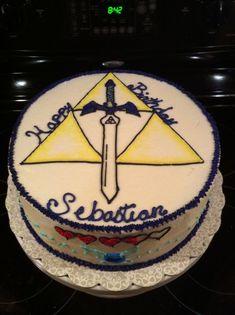 Image result for zelda birthday cake