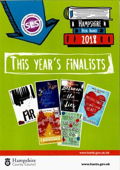 Hampshire Book Award Finalists 2018 Hampshire, Awards, Learning, School, Books, Libros, Hampshire Pig, Studying, Book