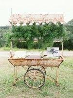 Elegant Garden Wedding with Vintage Rentals