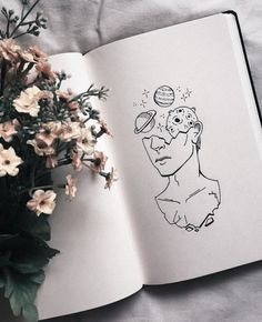 Here is a list of 40 simple things to draw for your bullet journal. The perfect way to liven up your bullet journal is with art and little doodles. ideas 40 Easy Things to Draw for Your Bullet Journal Inspiration Art, Art Inspo, Drawing Tips, Drawing Sketches, Drawing Art, Drawing Style, Drawing Journal, Illustration Art Drawing, Hipster Illustration