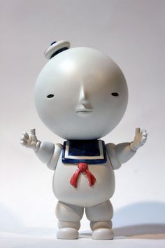 We have grown quite used to seeing the fine artworks of Los Angeles-based artist, that we forgot of the sculpture works of Yoskay Yamamoto. This new exhibition, Joke's On Me, will feature a series of sculptures based on iconic childhood characters, including the Stay-Puff man, Bart Simpson, Hello Kitty and a full collection of other sculptures. The work will be on display at LeBasse Projects Chinatown in Los Angeles starting tonight, March 24.
