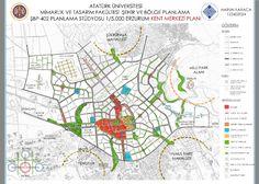 Erzurum Kent Merkezi 1/5.000