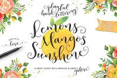 Lemons Mangos Sunshine By Emily Spadoni