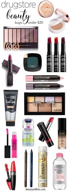 Amp up your look for the new year with these exciting new drugstore beauty products - all under $20!