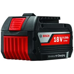 Bosch 18-Volt 4.0Ah Lithium-Ion Wireless Charge FatPack Battery