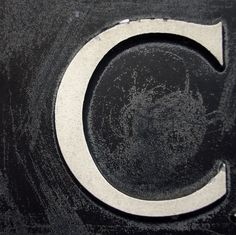 I want a large letter c for my front door