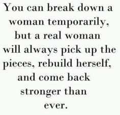Write this one down and keep it close as a strong reminder girls.