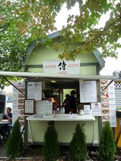 No. 5 Best food Carts in Portland - Samurai Bento Hai! Oh, to have this in some of our vacant lots. Heck yes!