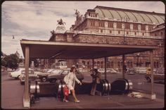 Vienna, Austria, Vintage Photos, Classic Style, 1960s, Opera, Vintage Fashion, Street View, In This Moment