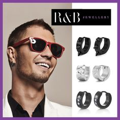 Swag Your Style R B Styles Rnbjewellery Hoop Earrings For Men