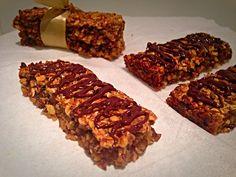Barrette ai Cereali Fatte in Casa golose sane genuine di dolci senza burro