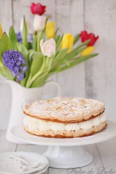Dulce de Leche: Mandľovo šlahačková torta