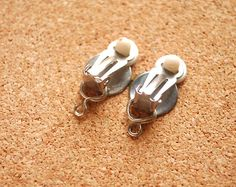 How to Convert Pierced Earrings to Clip On Earrings - wikiHow