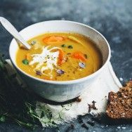 Corn Sweet Potato Soup