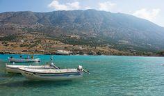 Crete Beachfront Villa Location