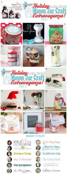 Holiday Mason Jar Craft Extravaganza Party