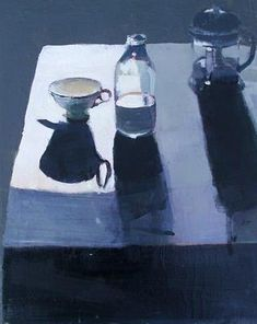 Milk & Cafetiere by Susan Ashworth - the lighting in this painting! Gouache Painting, Painting & Drawing, Still Life Artists, Illustration Art, Illustrations, Galerie D'art, Painting Still Life, Everyday Objects, Light And Shadow